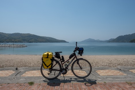 It's a gorgeous day to cycle the Shimanami Kaido cycle path