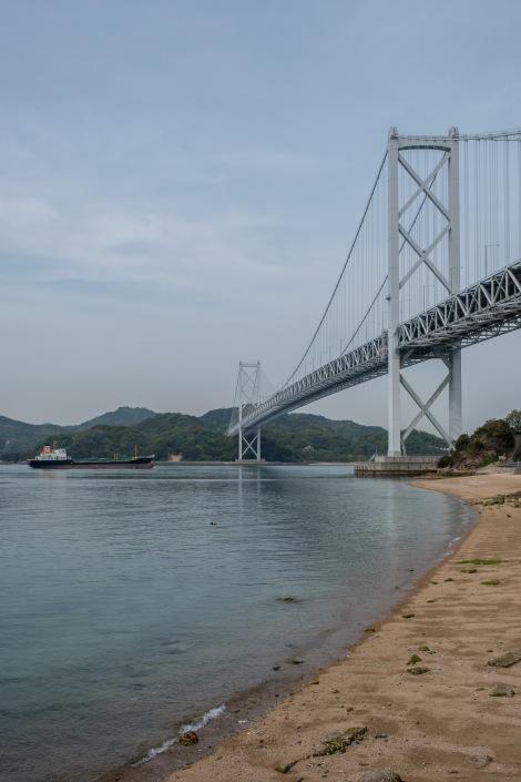 Innoshima suspended bridge (1,270m long)