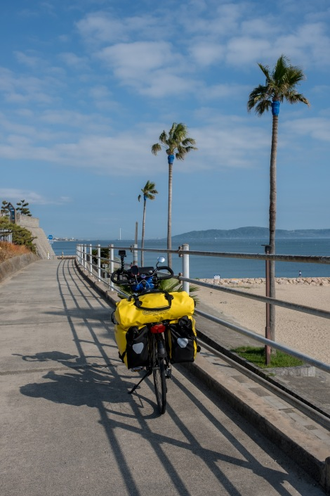 On the Akashi cycle path, or is it Florida?