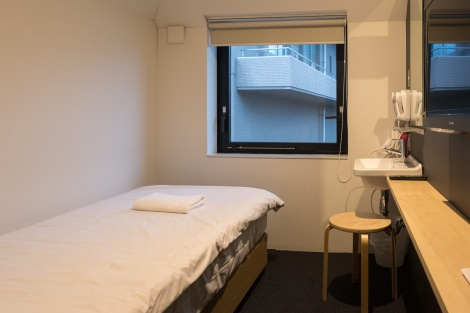 My private room at Piece Hostel Kyoto