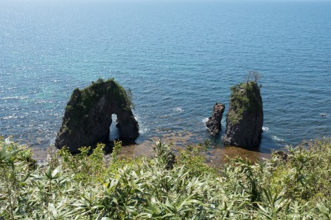 More rock formations, Noto Peninsula