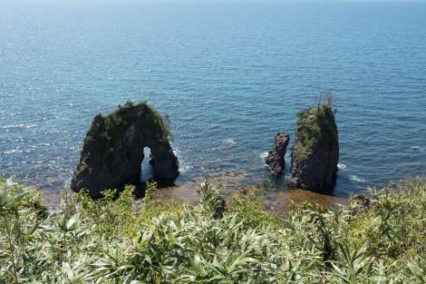 More rock formations, Noto Peninsula