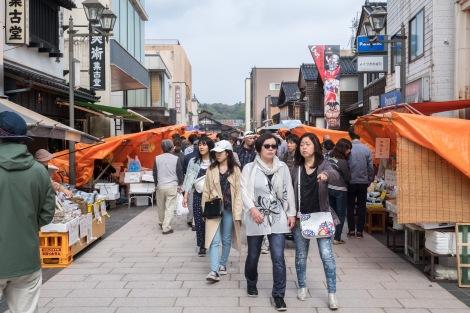 Wajima asaichi morning market