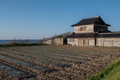 Local farming houses along the Noto Peninsula