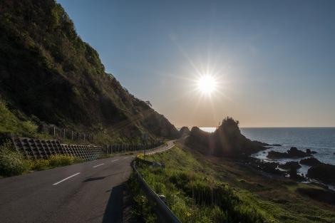 A lovely coastal road, Noto Peninsula