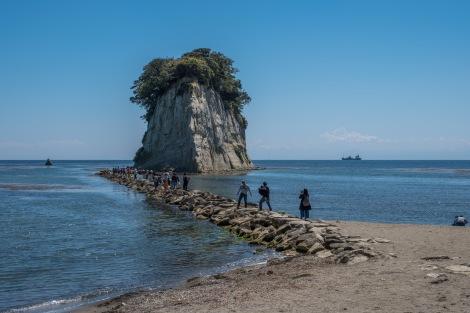 Mitsukejima island, Noto Peninsula