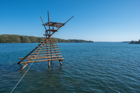 A fishing platform, Noto Peninsula