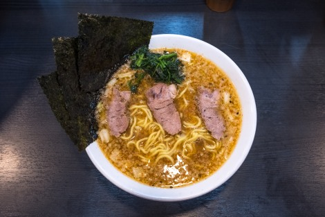 Ramen for dinner in Itoigawa