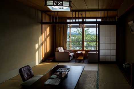 My room at Hotel New Katsura, Sado Island