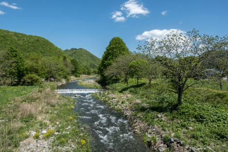 Stunning scenery among the hills of Iwate Prefecture