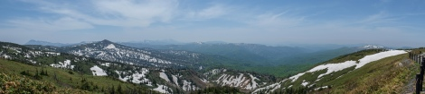 Panorama from what I think is the top