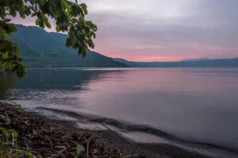 Sunset at Lake Towada