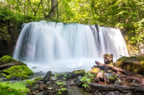 Choshi Otaki (Choshi big falls), Oirase Gorge