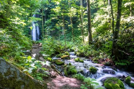 Kumoi Falls, Oirase Gorge