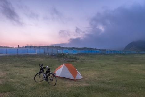Hamamasu seaside park campground