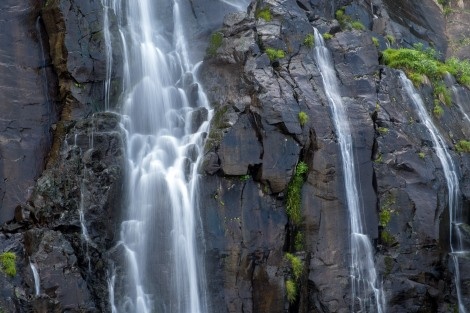Shiragane waterfall, Route 231