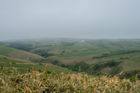 Detour up Soya hill (Route 889) - it was mostly overcast and freezing cold!