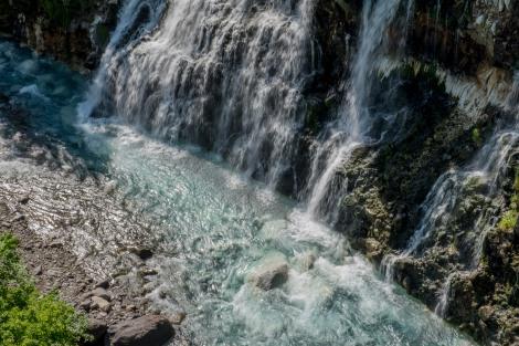 Shirahige falls, Shirogane Hot Spring