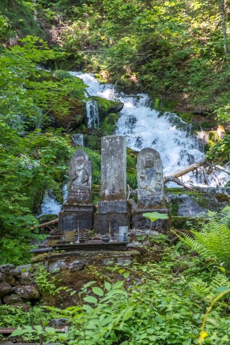 Shirogane Fudo-no-taki falls