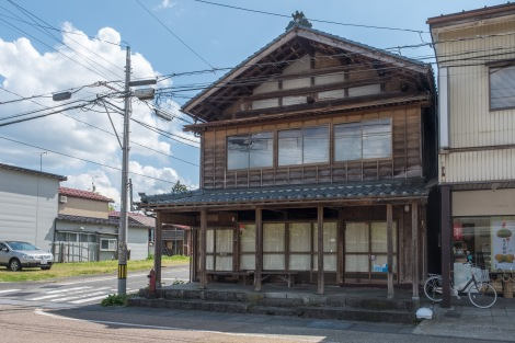 This house might be where Isabella Bird stayed the night before sailing down the Agano River to Niigata
