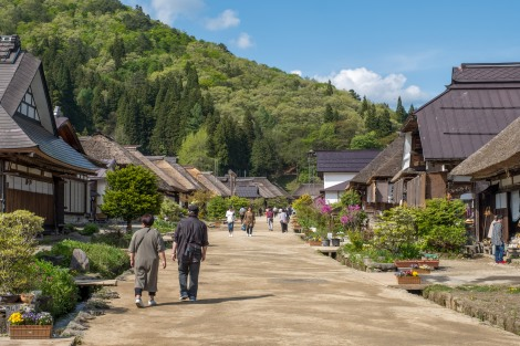 The stunning Edo post-town called Ouchi-juku