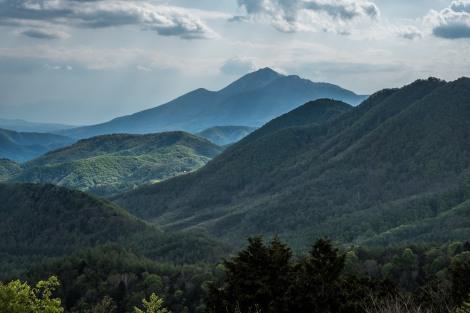 Last view of Mt Bandai