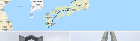 67 days, 4529km, cycling the length of Japan from Cape Sata, the southernmost point in Kyushu to Cape Soya, the northernmost point in Hokkaido, complete :)