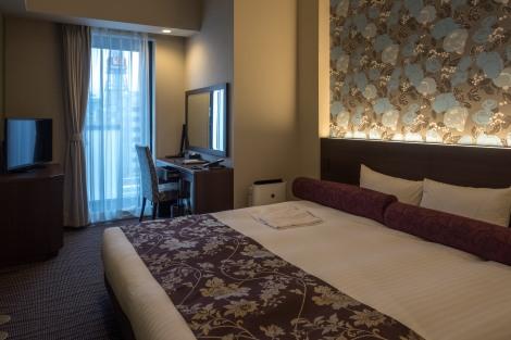 My room at WBF Sapporo Chuo Hotel