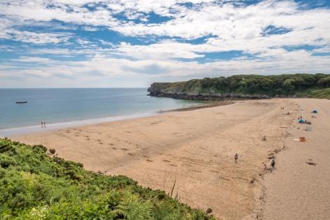 Barafundle Bay Beach