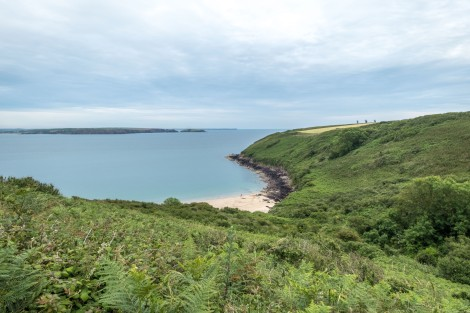 Looking down on Watwick Bay