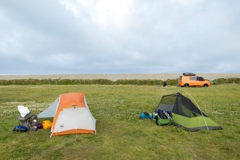 Newgale campground