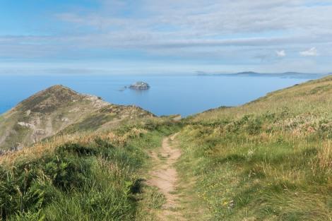 Green Scar island, Pembrokeshire Coast Path