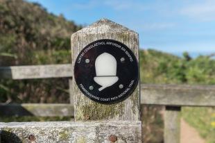 Pembrokeshire Coast Path National Trail waymark