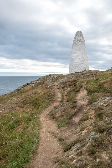 Porthgain harbour marker