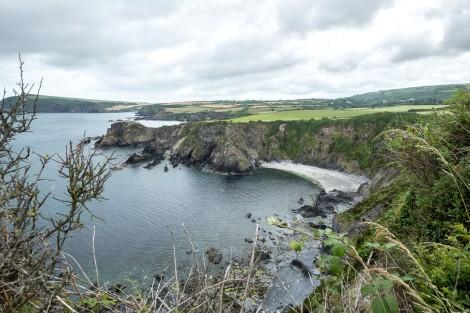 Aber Grugog, Pembrokeshire Coast Path