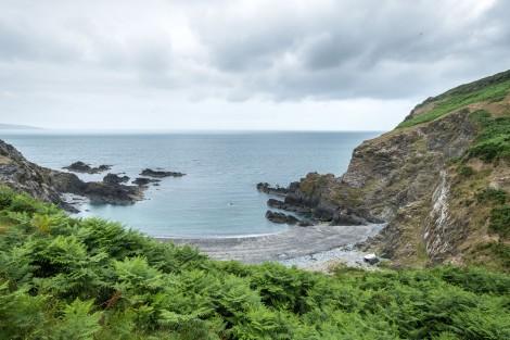 Aber Bach, Pembrokeshire Coast Path