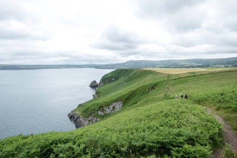 Dinas Head, Pembrokeshire Coast Path