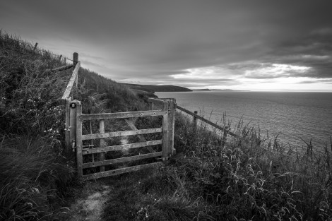 There's lots of gates on the Pembrokeshire Coast Path