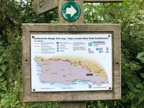 Taking the 'Castlemartin range trail' detour