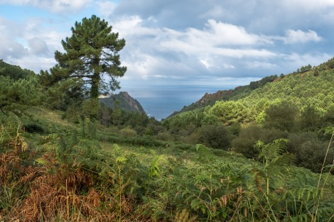 Views of the Bay of Biscay