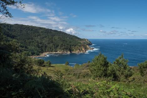 Coastal views on the Camino del Norte