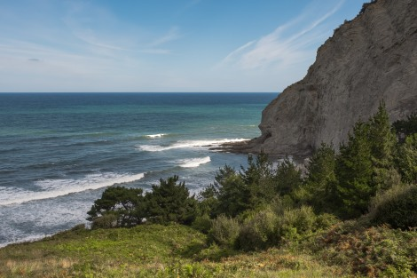Beautiful September sunny weather and stunning views on the Camino del Norte
