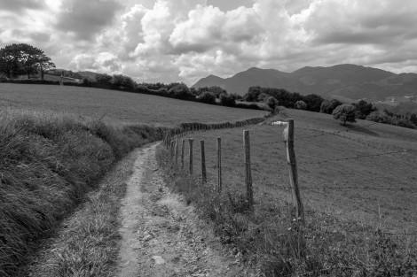 The path descending into Deba