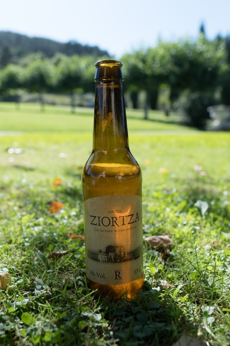 Ziortza, a craft beer made by the monks at Monasterio de Zenarruza