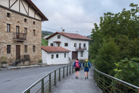 Pilgrims on the Camino del Norte