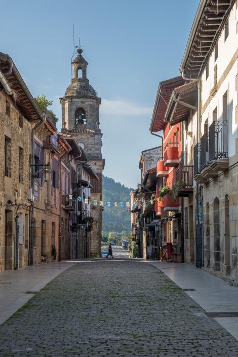 The town of Larrabetzu