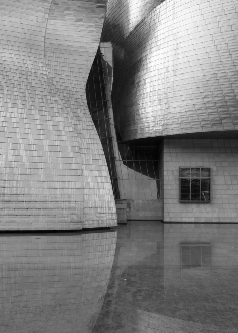 The Guggenheim museum in Bilbao designed by Frank Gehry