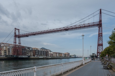 Vizcaya Bridge (also known as Bizkaiko Zubia in Basque), which was designated UNESCO World Heritage in 2006