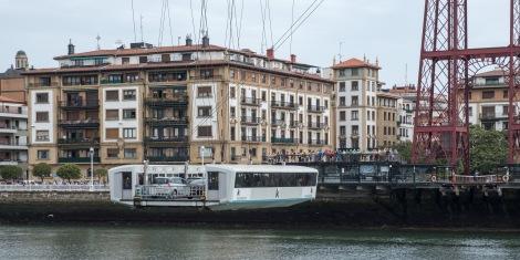 The Vizcaya Bridge cable car