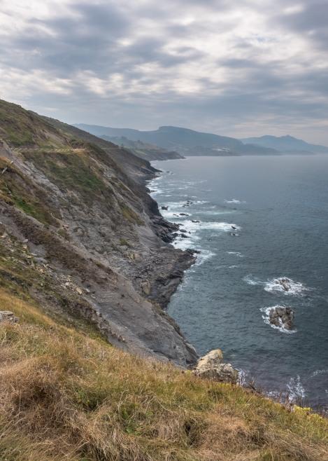 Coastal views towards Pobeña